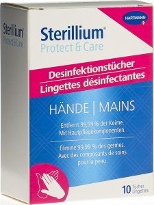 Product picture of Sterillium Protect&care wipes 10 pieces