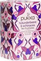 Product picture of Pukka Holunderbeere & Echinacea Tee Bio Beutel 20 Stück
