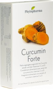Product picture of Phytopharma Curcumin Forte Liquid Capsules 60 pieces