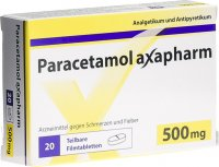 Immagine del prodotto Paracetamol Axapharm Filmtabletten 500mg 20 Stück