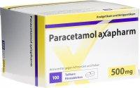 Immagine del prodotto Paracetamol Axapharm Filmtabletten 500mg 100 Stück