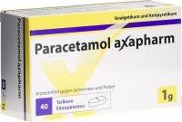 Immagine del prodotto Paracetamol Axapharm Filmtabletten 1g 40 Stück