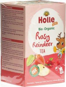 Immagine del prodotto Holle Rosy Reindeer tè alla frutta Bio 20x 2.2g