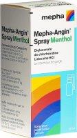 Immagine del prodotto Mepha-angin Spray Menthol Flasche 30ml