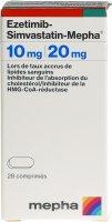 Immagine del prodotto Ezetimib-simvastatin Mepha Tabletten 10/20mg Dose 28 Stück