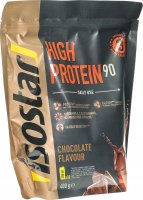 Product picture of Isostar High Protein 90 powder chocolate bag 400g