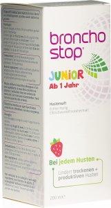 Immagine del prodotto Bronchostop Junior Bottiglia di sciroppo per la tosse 200ml