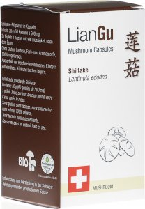 Product picture of LianGu Shiitake Mushrooms Capsules Can 60 Pieces