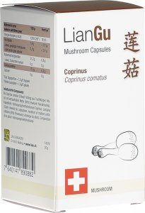 Product picture of LianGu Coprinus Mushrooms Capsules Can 60 Pieces