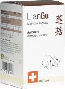 Product picture of LianGu Auricularia Mushrooms Capsules Can 180 Pieces