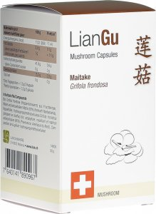 Product picture of LianGu Maitake Mushrooms Capsules Can 180 Pieces