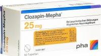 Immagine del prodotto Clozapin Mepha Tabletten 25mg 50 Stück