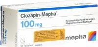 Immagine del prodotto Clozapin Mepha Tabletten 100mg 50 Stück