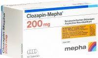 Immagine del prodotto Clozapin Mepha Tabletten 200mg 50 Stück