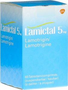 Immagine del prodotto Lamictal Disp Tabletten 5mg Flasche 60 Stück