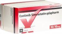 Immagine del prodotto Ezetimib Simvastatin Axapharm Tabletten 10/10mg 98 Stück