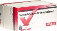 Immagine del prodotto Ezetimib Simvastatin Axapharm Tabletten 10/20mg 98 Stück