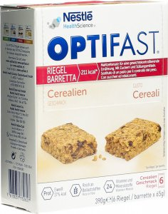 Product picture of Optifast Bar cereals 6x 65g