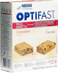 Immagine del prodotto Optifast Cereali da barretta 6x65g