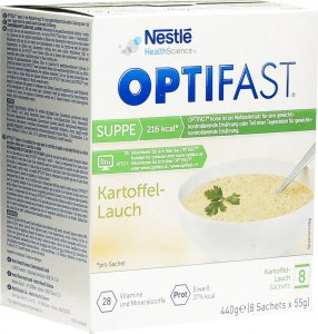 Product picture of Optifast Potato-leek soup 8 bags 55g