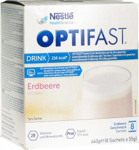 Immagine del prodotto Optifast Drink Fragola 8 Bag 55g
