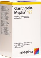 Clarithrocin Mepha Suspension 125mg/5ml 100ml