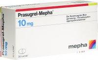 Immagine del prodotto Prasugrel Mepha Lactab 10mg 30 Stück