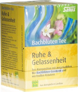 Product picture of Salus Bach flowers tea Calm Relax Organic bag 15 pieces