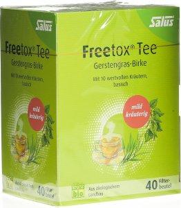 Immagine del prodotto Salus Freetox tè orzo erba d'orzo borsa organica di betulla 40 pezzi