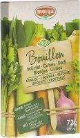 Image du produit Morga Gemüse Bouillon Würfel Go Clean Bio 8 Stück