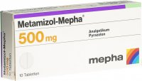 Immagine del prodotto Metamizol Mepha Tabletten 500mg 10 Stück
