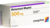 Immagine del prodotto Metamizol Mepha Tabletten 500mg 50 Stück