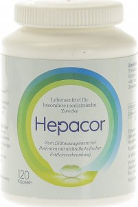 Immagine del prodotto Hepacor Capsule bottiglia 120 pezzi