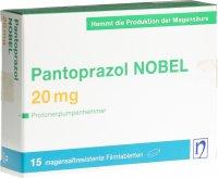 Immagine del prodotto Pantoprazol Nobel Filmtabletten 20mg 15 Stück