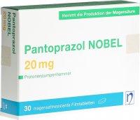 Immagine del prodotto Pantoprazol Nobel Filmtabletten 20mg 30 Stück