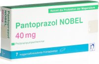 Immagine del prodotto Pantoprazol Nobel Filmtabletten 40mg 7 Stück