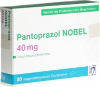 Immagine del prodotto Pantoprazol Nobel Filmtabletten 40mg 30 Stück