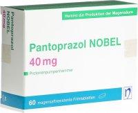 Immagine del prodotto Pantoprazol Nobel Filmtabletten 40mg 60 Stück