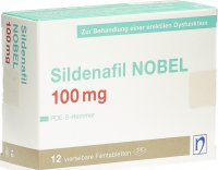 Immagine del prodotto Sildenafil Nobel Filmtabletten 100mg 12 Stück