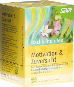 Product picture of Salus Bach Flower Tea Motivation Confidence Organic 15 pieces