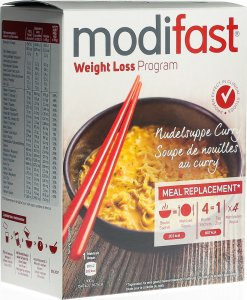 Product picture of Modifast Programme noodle soup curry (new) 4x 55g