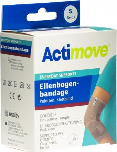 Product picture of Actimove Everyday Support Elbow Bandage S Pads, Velcro Tape