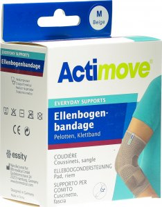 Product picture of Actimove Everyday Support Elbow Bandage M Pads, Velcro Tape