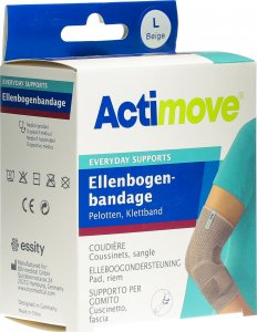 Product picture of Actimove Everyday Support Elbow Bandage L Pads, Velcro Tape
