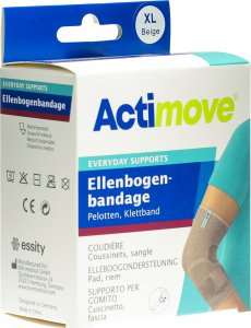 Immagine del prodotto ActimoveEveryday Support Bendaggio per il Gomito L Imbottiture, Nastro di Velcro