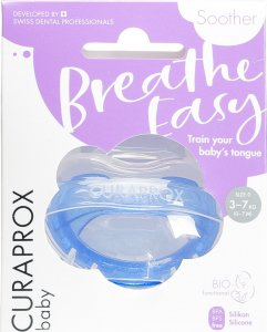 Product picture of Curaprox Baby pacifier size 0 Blue Single