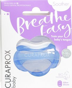 Product picture of Curaprox Baby pacifier size 1 Blue Single