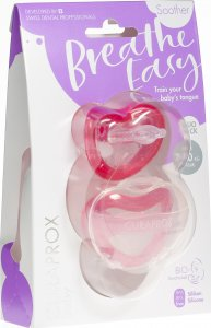 Product picture of Curaprox Baby pacifier size 1 Pink Double New 2 pieces