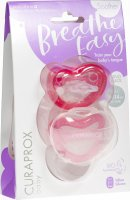 Product picture of Curaprox Baby pacifier size 2 Pink Double New 2 pieces