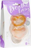 Immagine del prodotto Curaprox Ciuccio per bambini misura 1 arancia Doppio Nuovo 2 pezzi